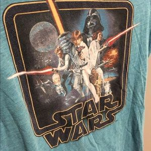 Star Wars Vintage logo T shirt